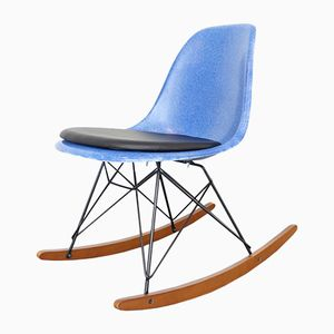 DSW Side Rocking Chair by Charles & Ray Eames for Herman Miller, 1970s