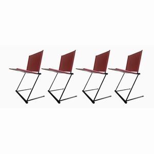 Ballerina Chairs by Herbert Ohl for Matteo Grassi, 1980s, Set of 4