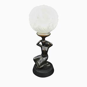 Italienische Art Deco Tischlampe, 1930er