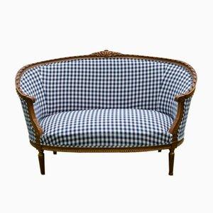 Swedish Tub-Shaped Sofa, 1900s