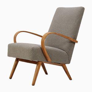 Bugholz Sessel von TON, 1960er