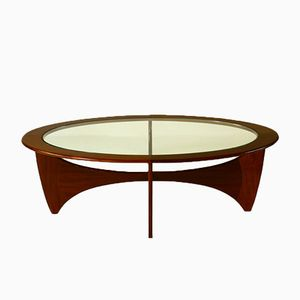 Mid-Century Modern Astro Teak Coffee Table by Victor Wilkins for G-Plan