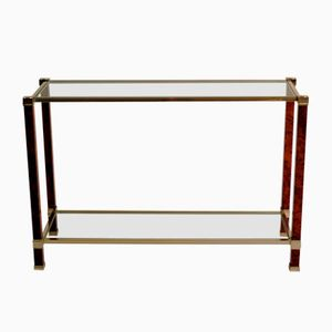 Double-Deck Console Table by Pierre Vandel, 1980s