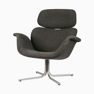 Large Vintage Tulip Lounge Chair by Pierre Paulin for Artifort