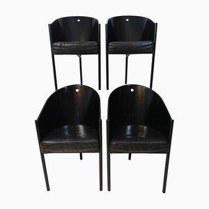 Vintage Costes Stühle von Philippe Starck für Driade, 4er Set