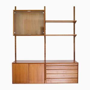 Teak Royal System Wall Unit by Paul Cadovius for Cado, 1950s