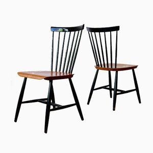 Schwedische Stühle von Hagafors, 1950er, 2er Set
