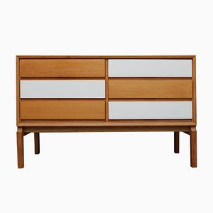 Oak Architect's Sideboard with Laminated Top from FDD, 1960s