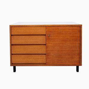 Teak Veneer & Resopal Sideboard with Drawers, 1960s