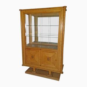 Vintage Art Deco Treasure Display Cabinet by Gaston Poisson