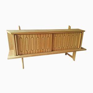 Mid-Century Sideboard von Guillerme et Chambron für Votre Maison