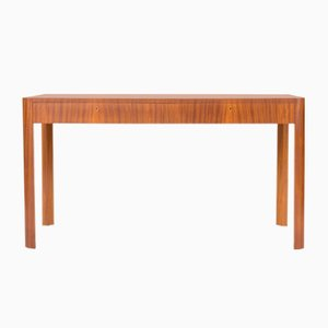 Swedish Mahogany Veneered Desk, 1930s