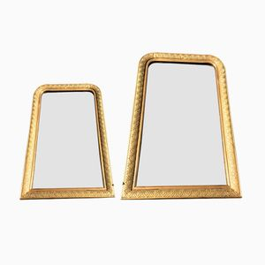 Gilded Mirrors, 1890s, Set of 2