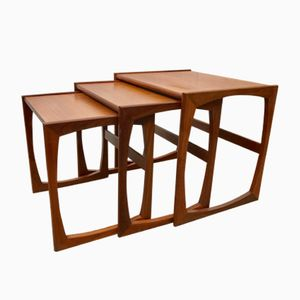 Vintage Nesting Side Tables from G-Plan