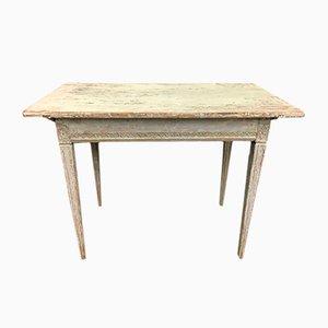 Antiker Schwedischer Tisch mit Original Lackierung, 1860er