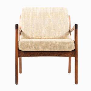 Senator Easy Chair in Rosewood by Ole Wanscher for France & Søn, 1960s