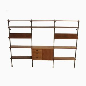 Modular Wall Unit by Olof Pira for String, 1960s