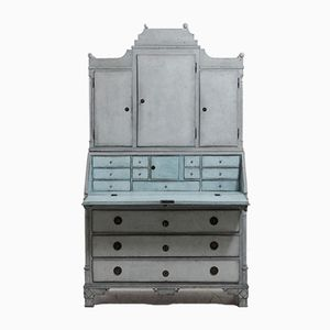 18th Century Gustavian Two Part Bureau