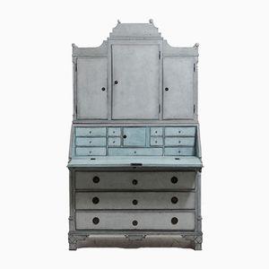 18th Century Gustavian Two Part Bureau