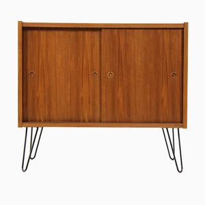 Mid-Century Danish Teak Sideboard with Hairpin Legs
