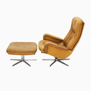 DS-50 Lounge Chair & Footstool from DeSede, 1960s