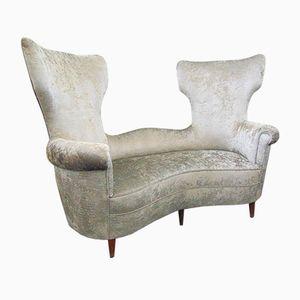 Sofa von Renzo Zavanella, 1950er