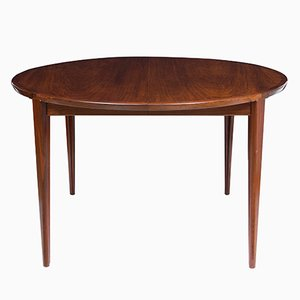 Rosewood Dining Table by Henry Rosengren Hansen for Brande Møbelindustri, 1960s