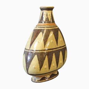 Dänische Gemusterte Vase, 1960er