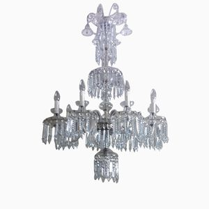 Spanish Crystal Chandelier, 1930s