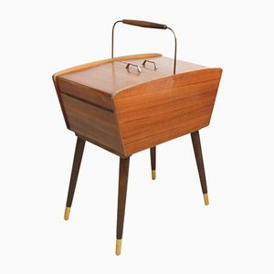 Mid-Century Modern Sewing Box