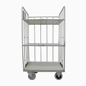 Mid-Century Industrial Laundry Trolley from Hammerlit