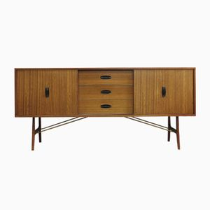 Walnut Limited Edition Autograph Range Sideboard by Herbert Gibbs, 1950s