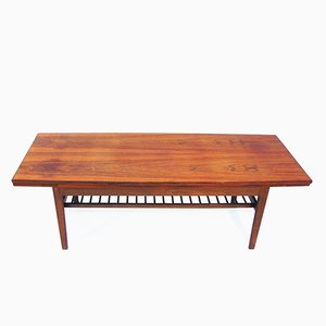 Danish Coffee Table in Rosewood by Johannes Andersen, 1960