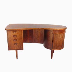 Modell 54 Palisander Schreibtisch von Kai Kristiansen für FM Möbler, 1950er