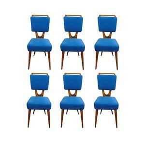 Vintage Stühle von Vigorelli, 6er Set