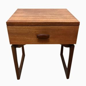 Mid-Century Quadrille Bedside Table by Roger Bennett for G-Plan