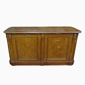 Swedish Wooden Counter, 1920s