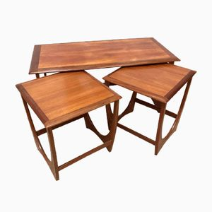 Mid-Century Astro Coffee Table & Nesting Tables by Victor Wilkins for G-Plan