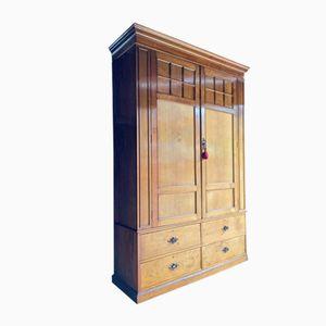 Victorian Mahogany Double Wardrobe