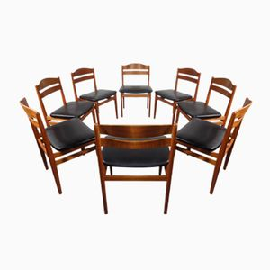 Mid-Century Danish Teak Dining Chairs from Boltinge Stolefabrik, Set of 8