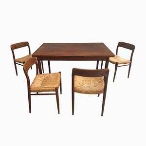 Dining Set by Niels Otto Møller, 1968