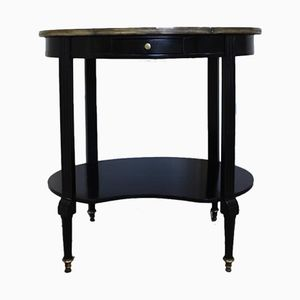 Louis XVI Ebonised Side Table