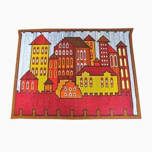 Polish Tapestry by Irena Potoczek for Cepelia, 1970s