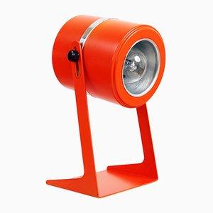 Orange Metal Table Lamp, 1970s