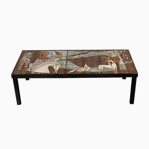 Keramik Tisch, 1950er
