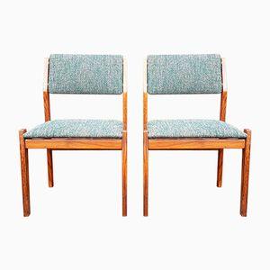 Niederländische Esszimmerstühle von Topform, 1960er, 2er Set