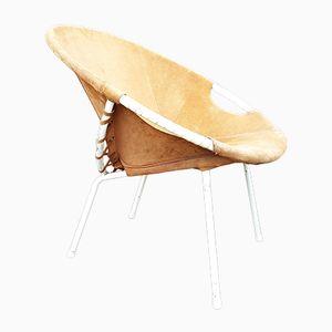 Mid-Century Balloon Stuhl von Lusch & Co