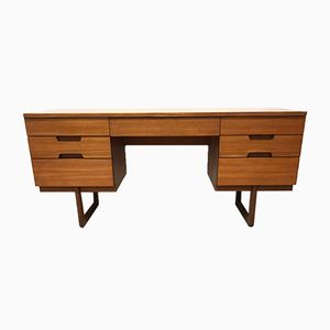 Vintage Q-Range Desk by Gunther Hoffstead for Uniflex