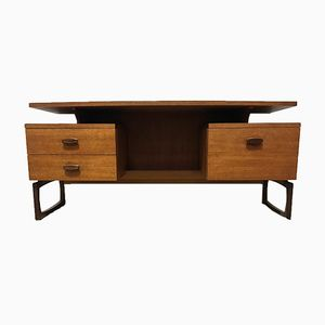 Mid-Century Quadrille Desk by Roger Bennett from G-Plan