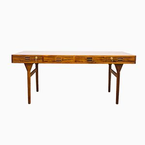 Mid-Century Rosewood Desk by Nanna Ditzel for Søren Willadsen Møbelfabrik